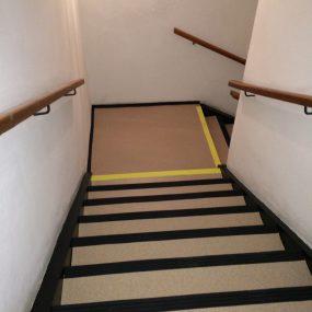 Homogénne PVC na schody