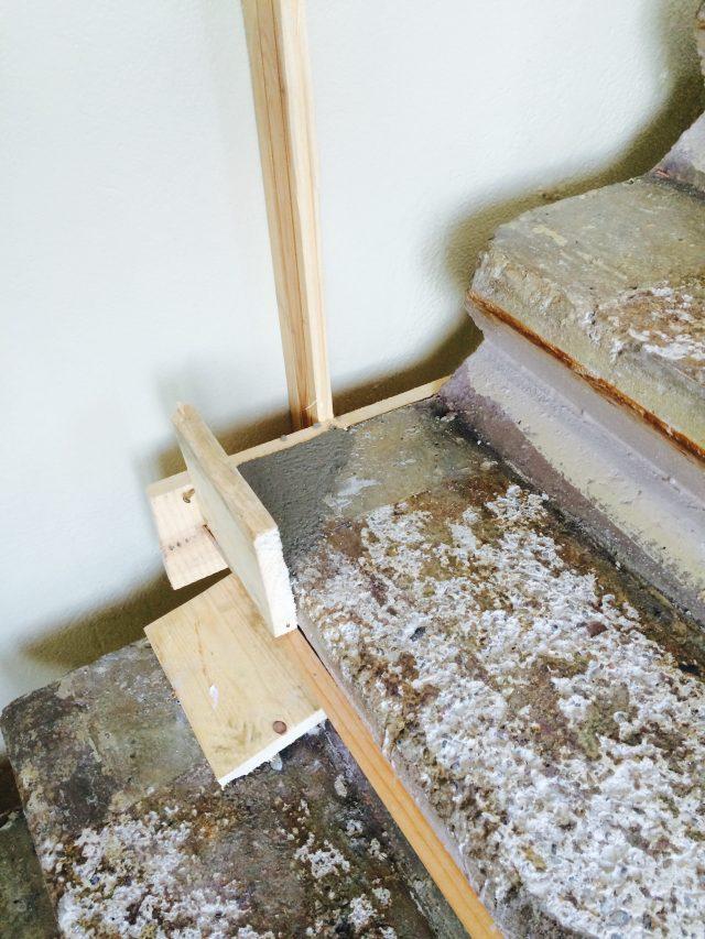 Oprava schodov v dezolátnom stave